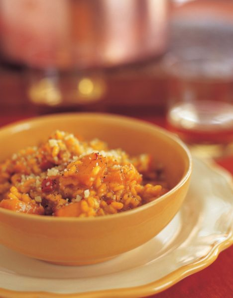Ina Garten Butternut Squash saffron risotto with butternut squash | barefoot contessa