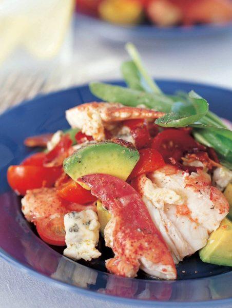 Lobster cobb salad barefoot contessa for Ina garten summer garden pasta