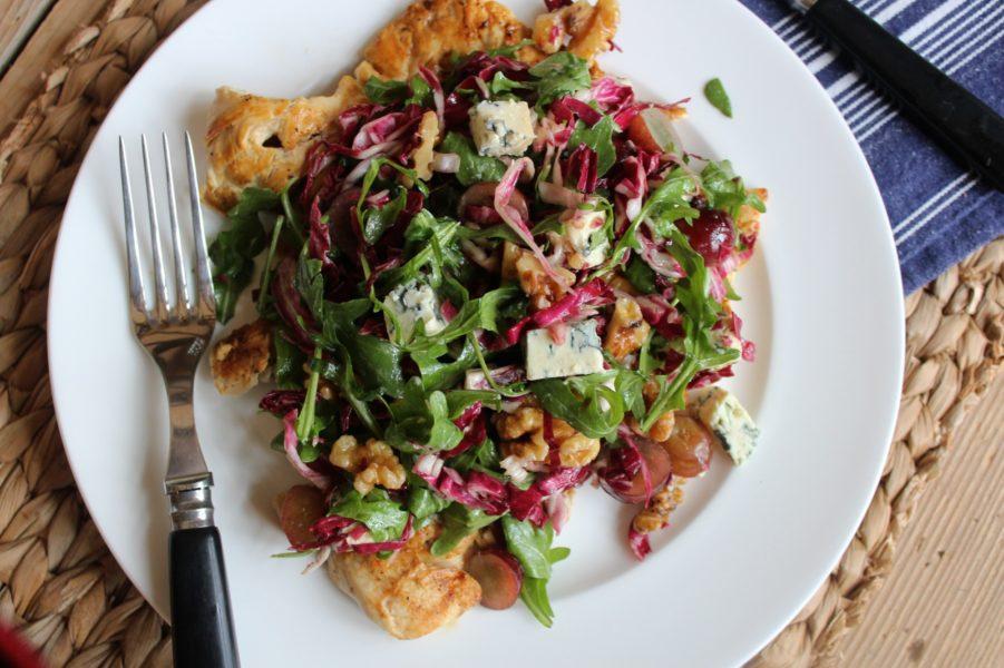 Grilled Chicken Paillard With Winter Green Salad Barefoot Contessa