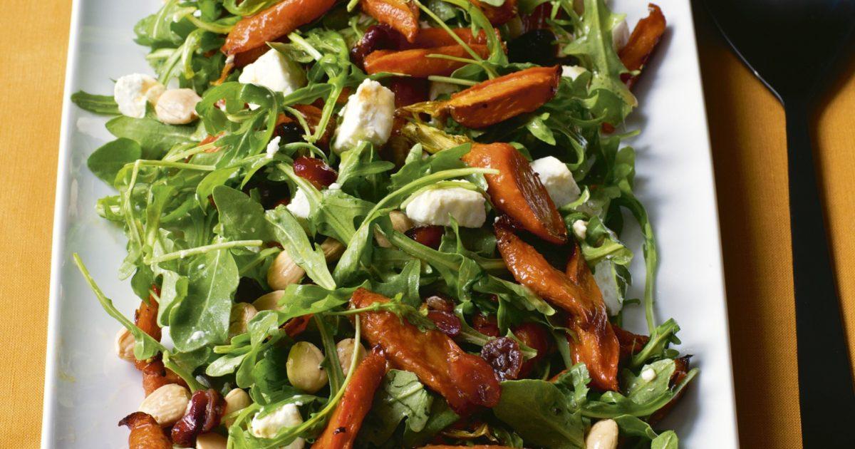 Maple Roasted Carrot Salad Barefoot Contessa
