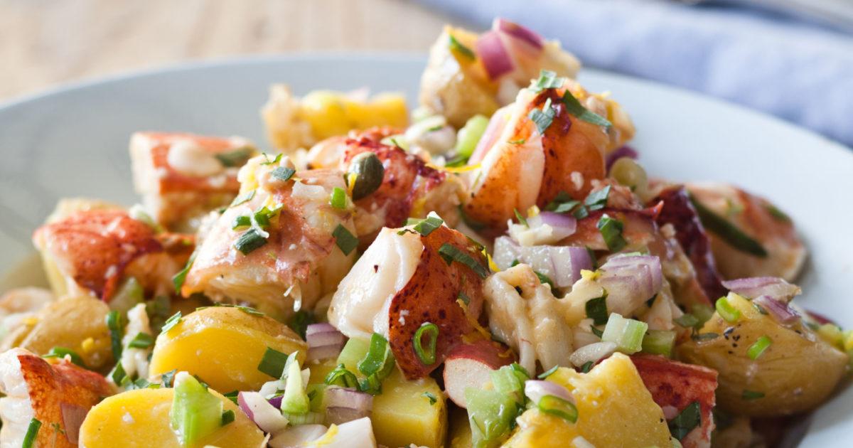 Lobster Potato Salad Barefoot Contessa