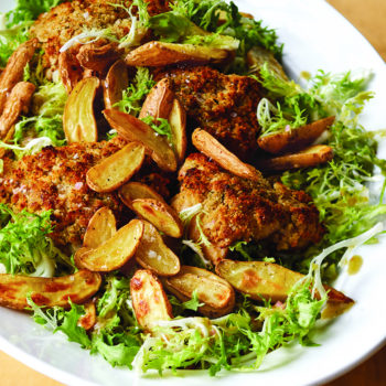 COOK LIKE A PRO SNEAK PEEK: Crispy Mustard Chicken & Frisée