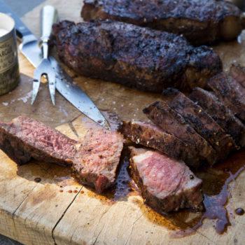 Coffee Rubbed Steaks