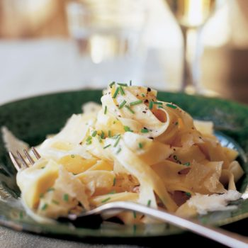 Tagliarelle with Truffle Butter!