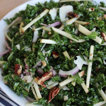 Kale & Apple Slaw
