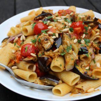 Sicilian Tomato & Eggplant Rigatoni