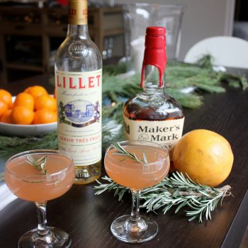 Bourbon Grapefruit Smash