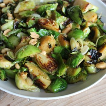 Crunchy Thai Brussels Sprouts