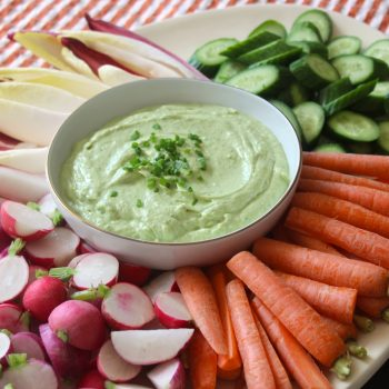 Greek Avocado & Herb Dip