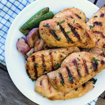 Buttermilk Grilled Chicken