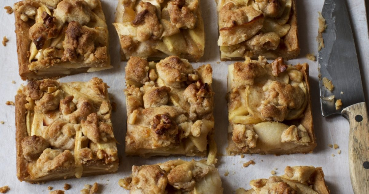 apple pie bars | recipes | barefoot contessa