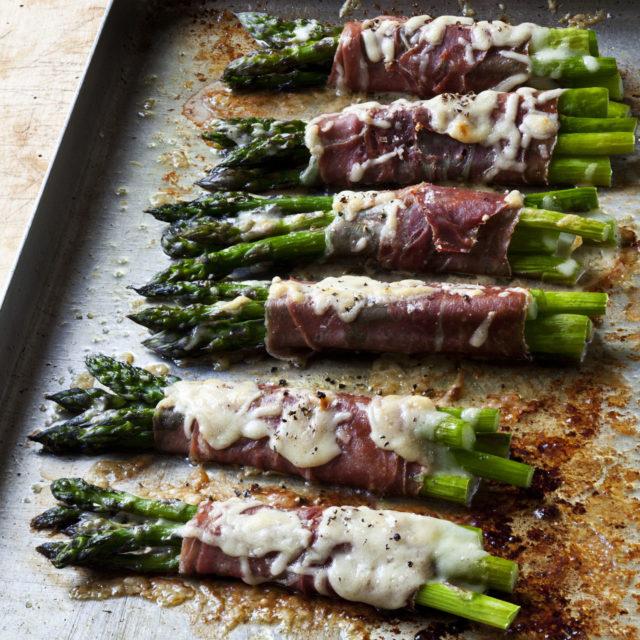 recipe: asparagus prosciutto parmesan [14]