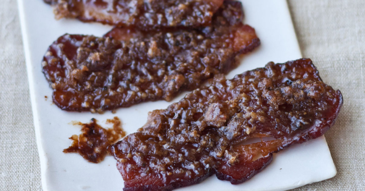 caramelized bacon recipes barefoot contessa - Ina Garten Baked Bacon