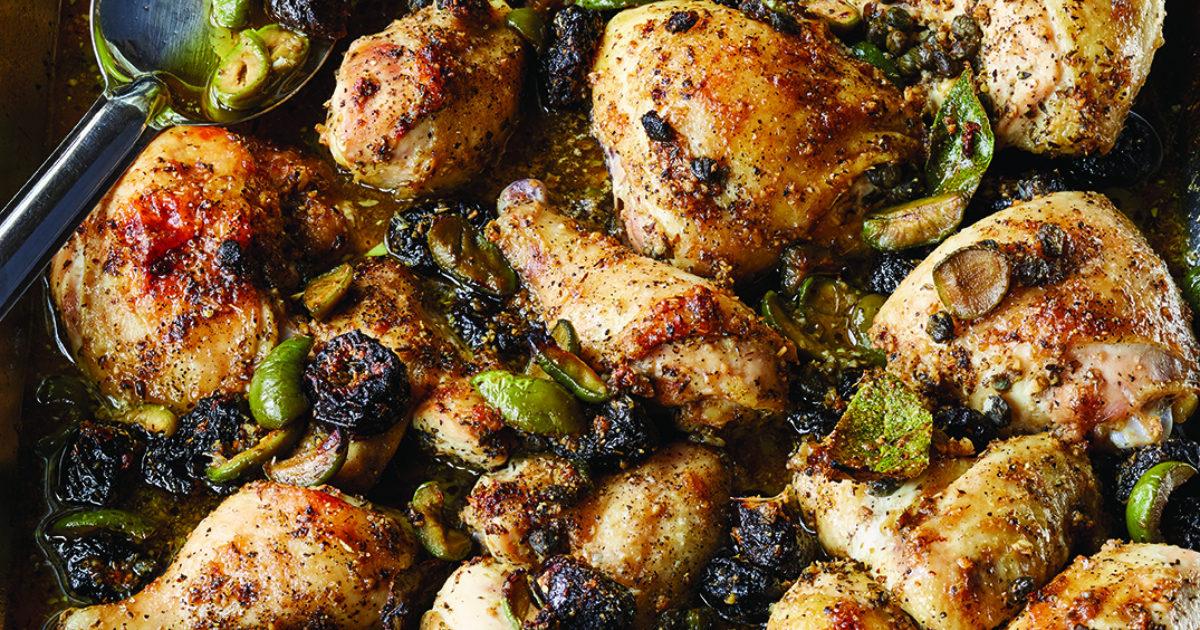 Chicken Marbella Updated Recipes Barefoot Contessa
