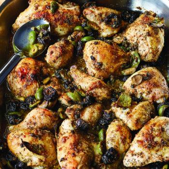 Chicken Marbella, Updated