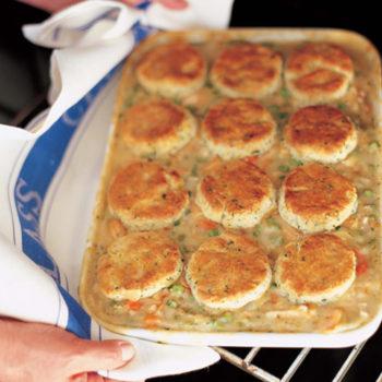 Chicken Stew with Biscuits