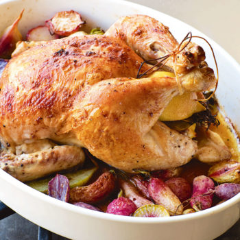 Chicken With Radishes