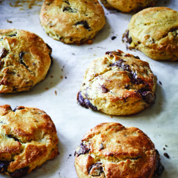 Chocolate Pecan Scones