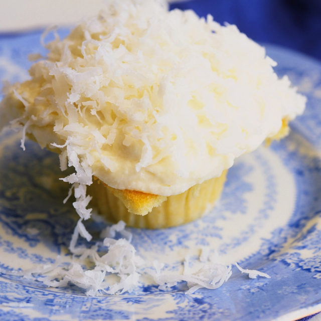 Ina Garten Cream Cheese Frosting coconut cupcakes | recipes | barefoot contessa
