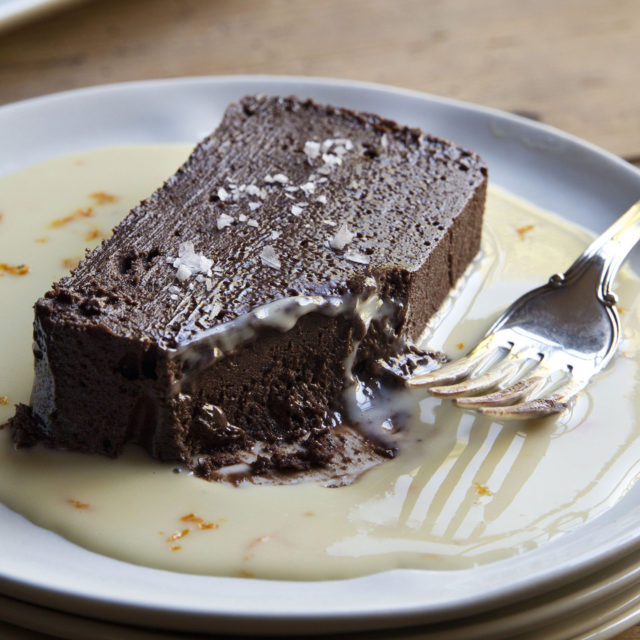 Dark Chocolate Terrine With Orange Sauce Recipes