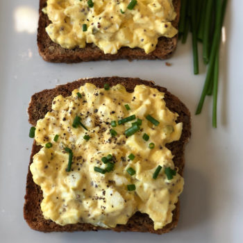 Egg Salad Tartines