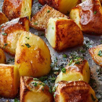 Emily's English Roasted Potatoes
