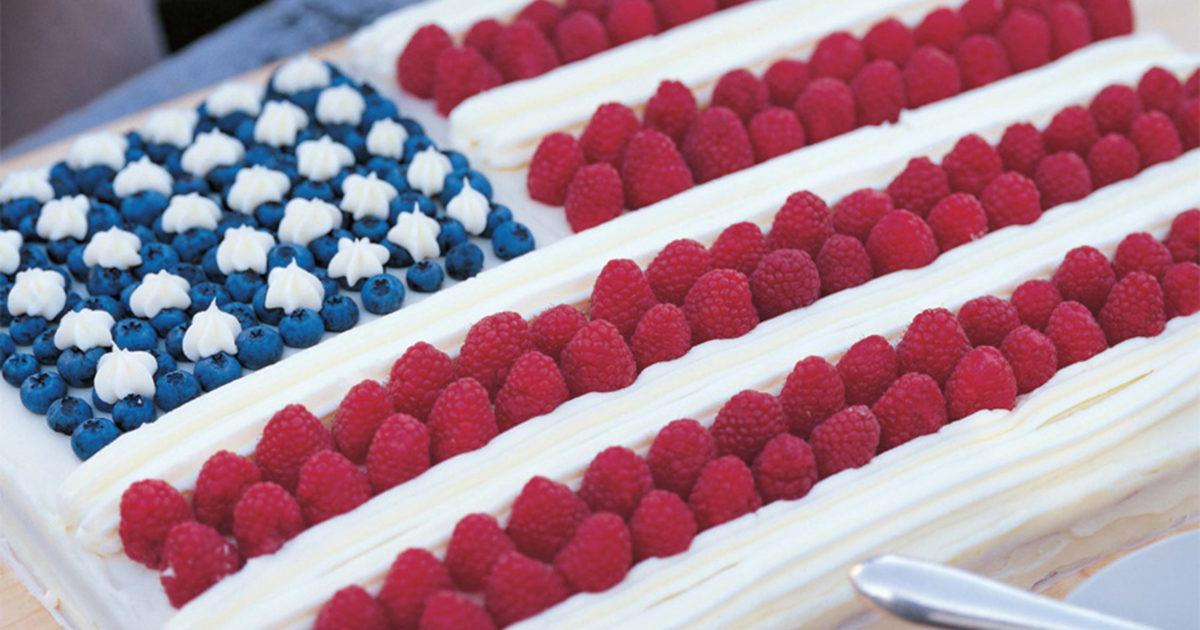Flag Cake Recipes Barefoot Contessa