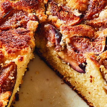 Fresh Fig & Ricotta Cake