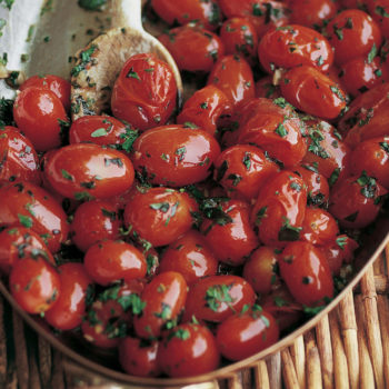 Garlic & Herb Tomatoes