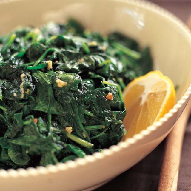 Garlic Saut 233 Ed Spinach Recipes Barefoot Contessa