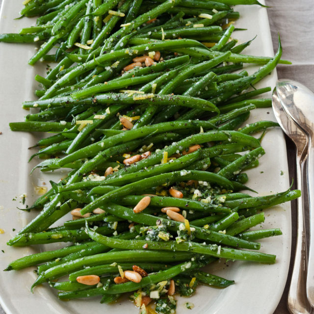 Green beans gremolata recipes barefoot contessa for Easy thanksgiving green bean recipes