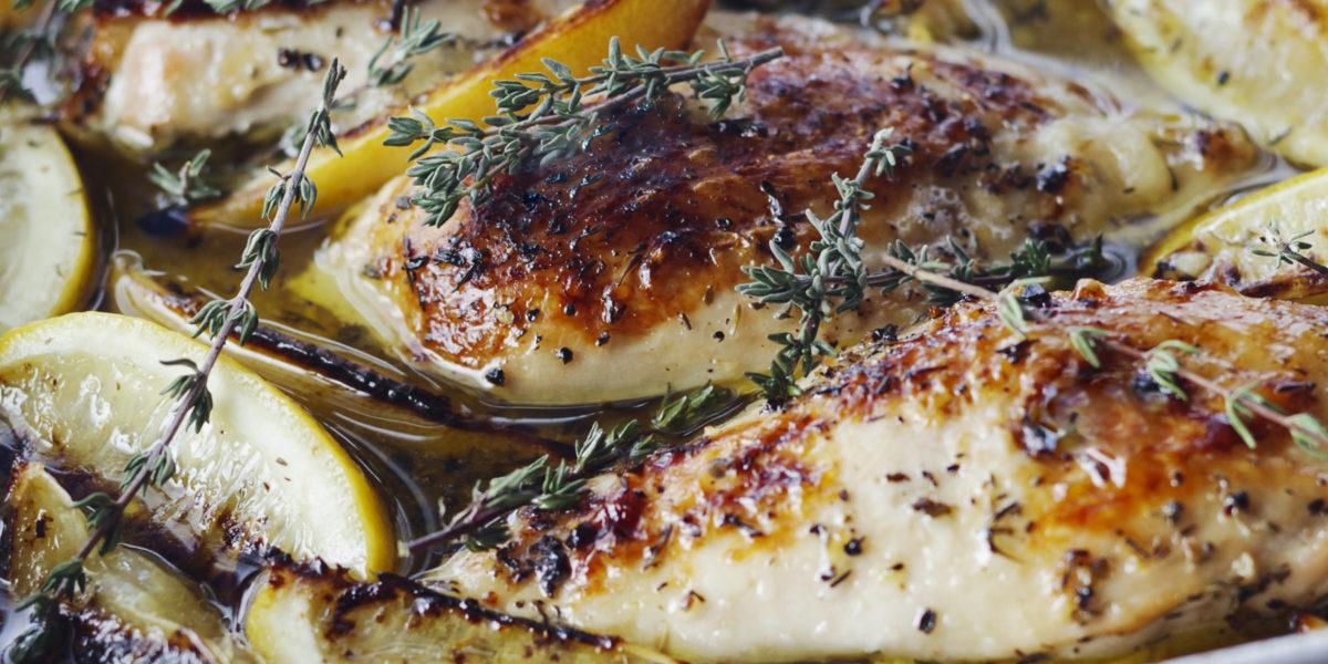 Healthy lemon chicken breast recipes