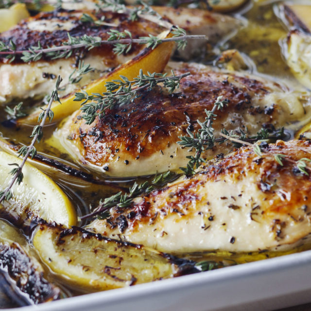 Easy lemon chicken breast recipes