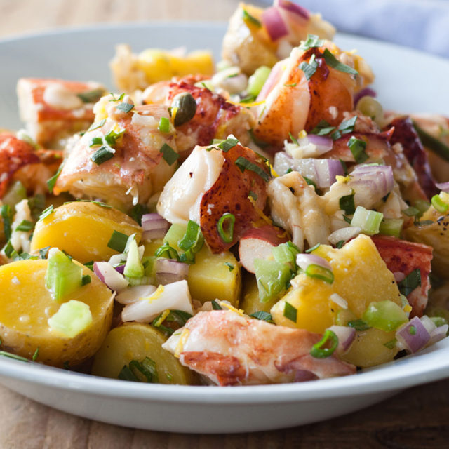 Barefoot Contessa Recipes lobster & potato salad | recipes | barefoot contessa