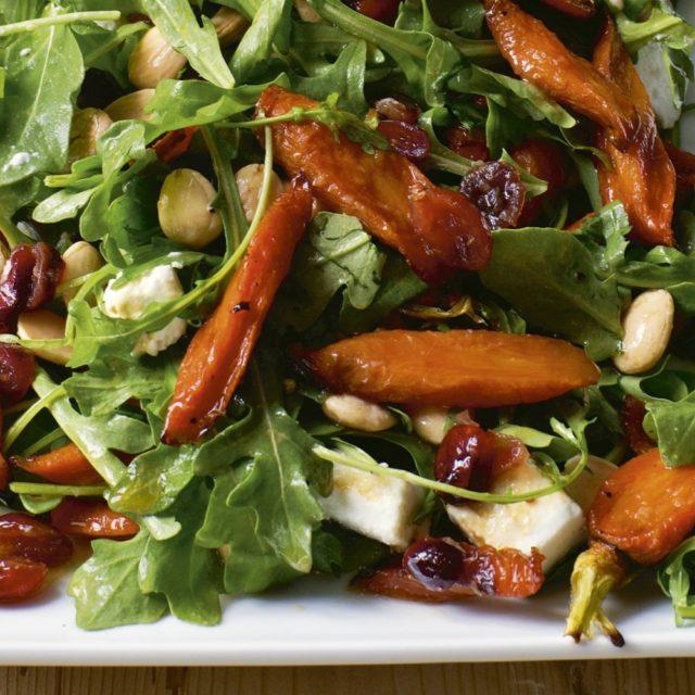 Maple Roasted Carrot Salad Recipes Barefoot Contessa