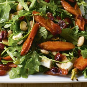 Maple-Roasted Carrot Salad