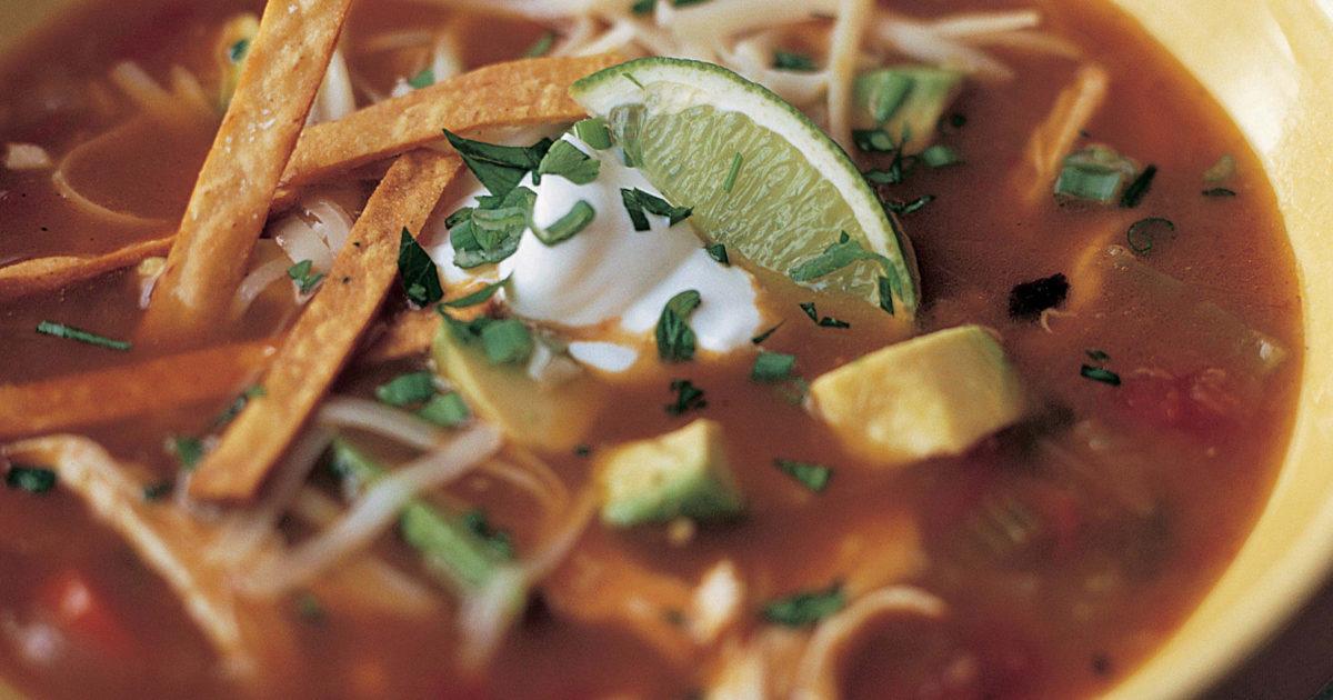 Mexican Chicken Soup Recipes Barefoot Contessa