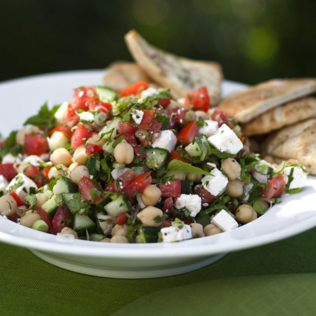 Ina Garten Salads middle eastern vegetable salad | recipes | barefoot contessa