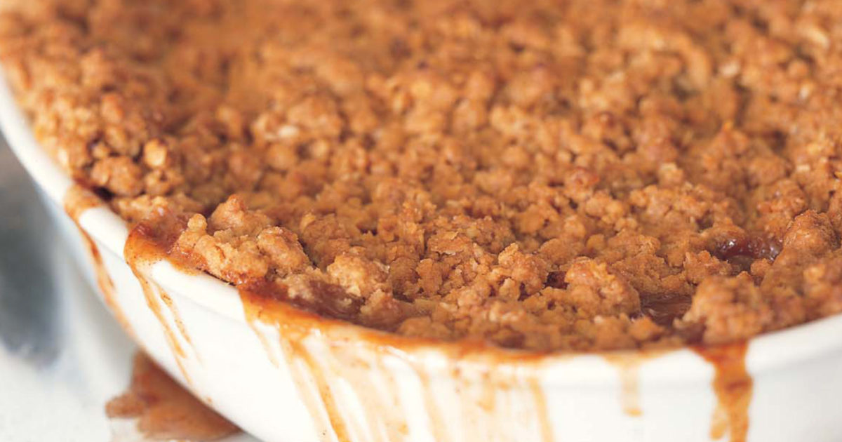 Apple Crisp with Oat Topping Recipe - m 29