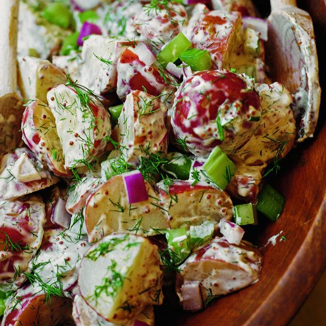 Wonderful Old Fashioned Potato Salad