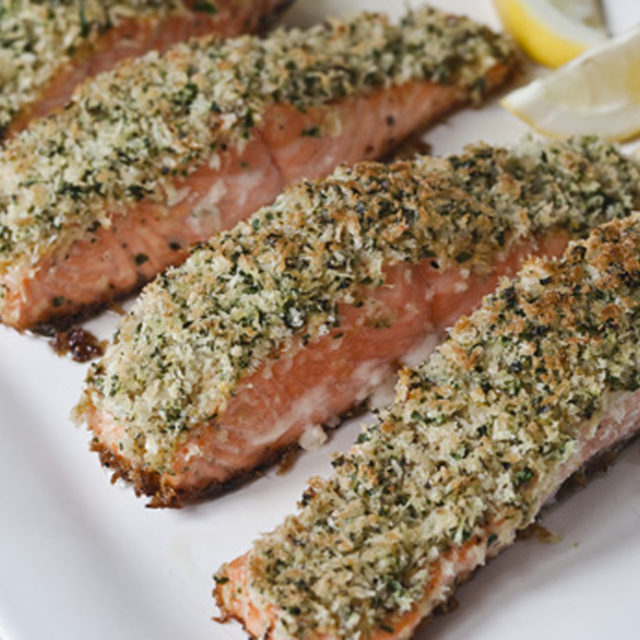 Barefoot Contessas Parmesan Chicken: Panko-crusted Salmon Recipe