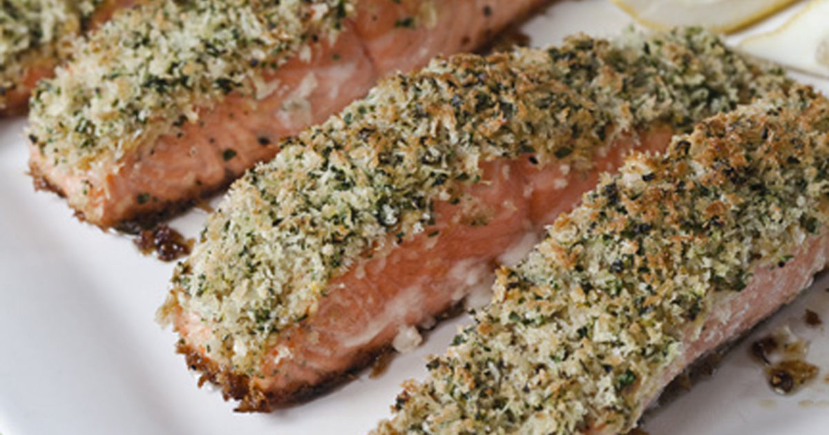 Panko-Crusted Salmon | Recipes | Barefoot Contessa