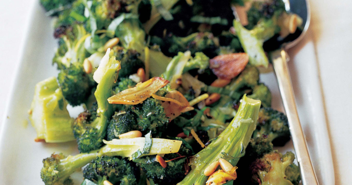 parmesan-roasted broccoli | recipes | barefoot contessa