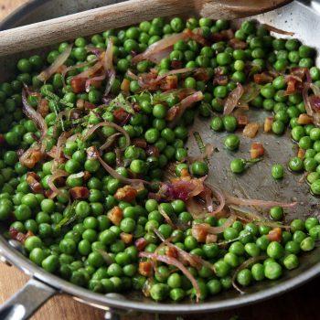 Peas & Pancetta