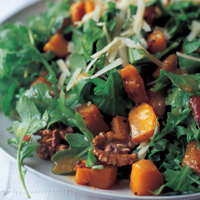 Ina Garten Butternut Squash roasted butternut squash salad with warm cider… | barefoot contessa