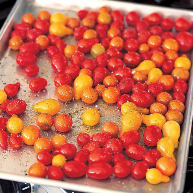 Roasted Tomatoes Ina Garten roasted cherry tomatoes | recipes | barefoot contessa