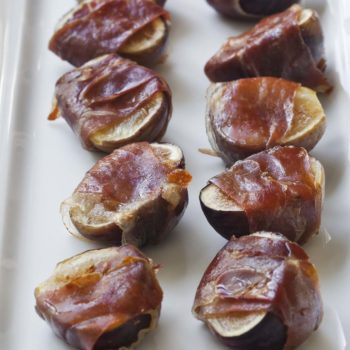 Roasted Figs & Prosciutto