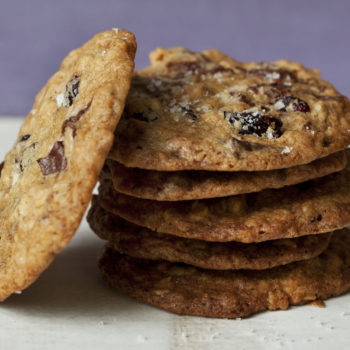 Salty Oatmeal Chocolate Chunk Cookies