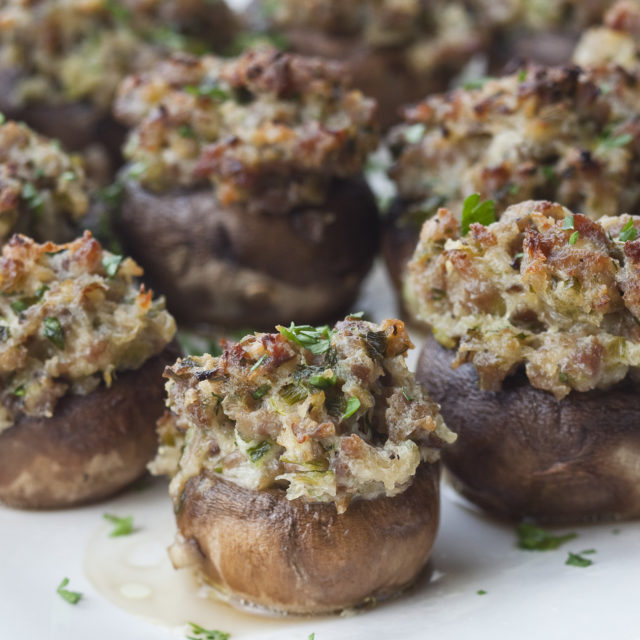 Sausage stuffed mushrooms recipes barefoot contessa for Asian cuisine 08052