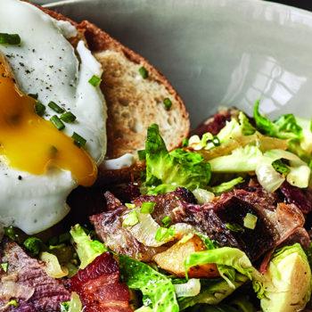 Short Rib Hash & Eggs